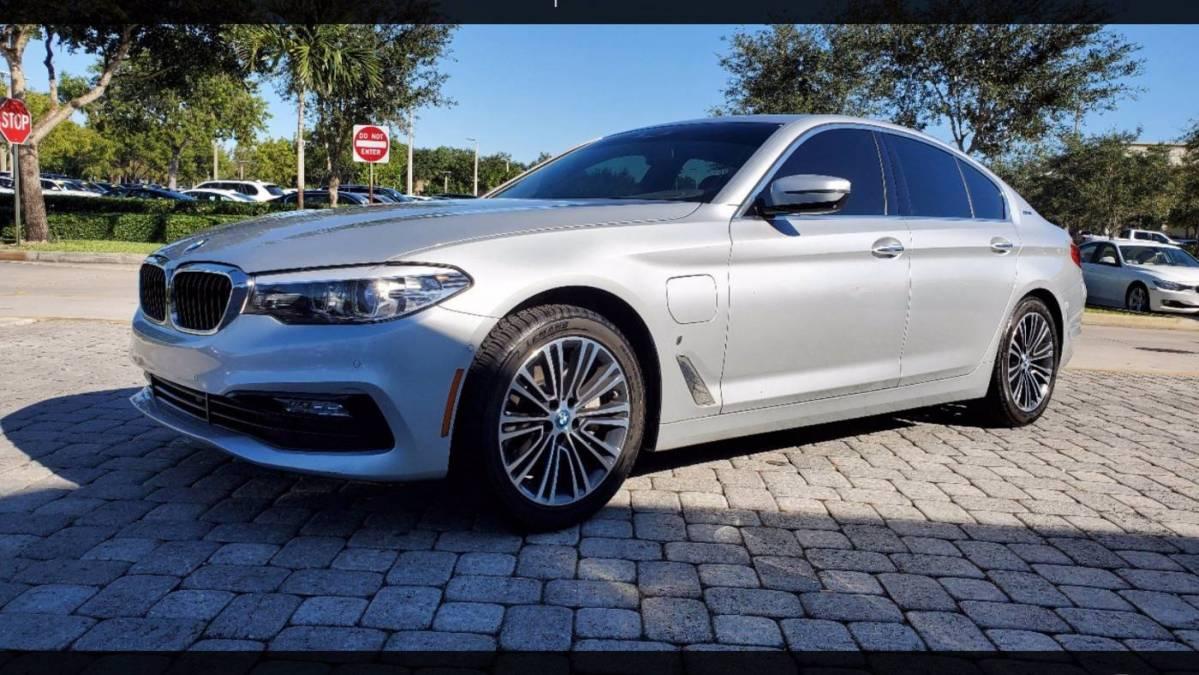 2018 BMW 5 Series WBAJA9C52JG623073