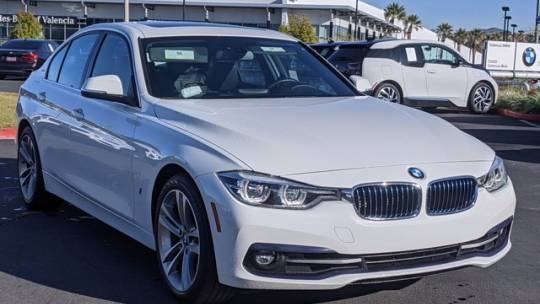 2018 BMW 3 Series WBA8E1C51JA159605