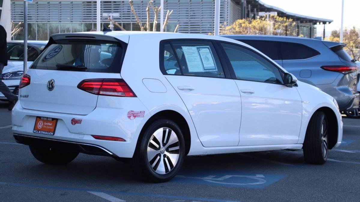 2017 Volkswagen e-Golf WVWKR7AU4HW953747