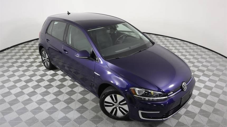 2017 Volkswagen e-Golf WVWKR7AU9HW953677