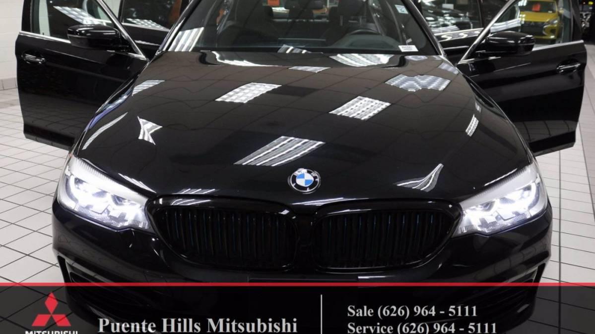 2018 BMW 5 Series WBAJA9C58JB034302