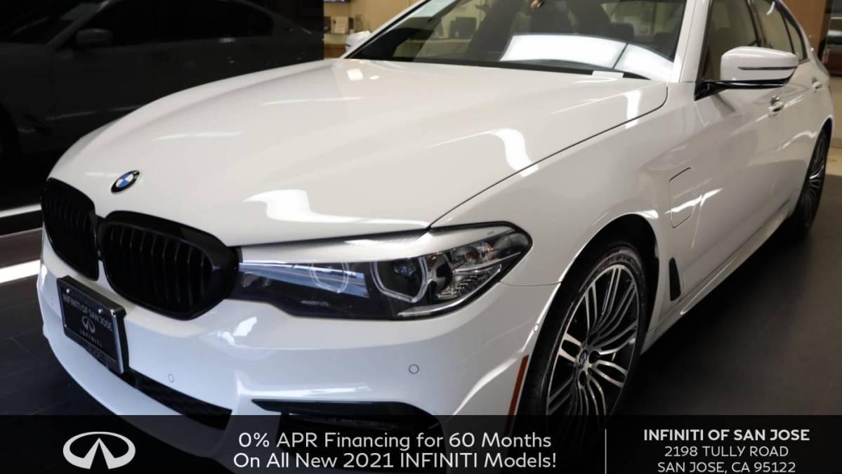 2018 BMW 5 Series WBAJA9C50JG623055