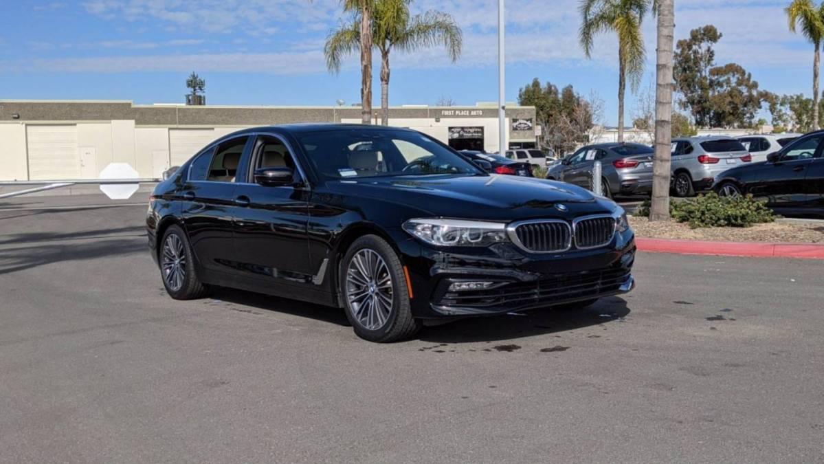 2018 BMW 5 Series WBAJA9C58JB032680