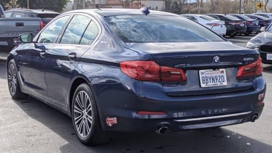 2018 BMW 5 Series WBAJA9C58JB034574