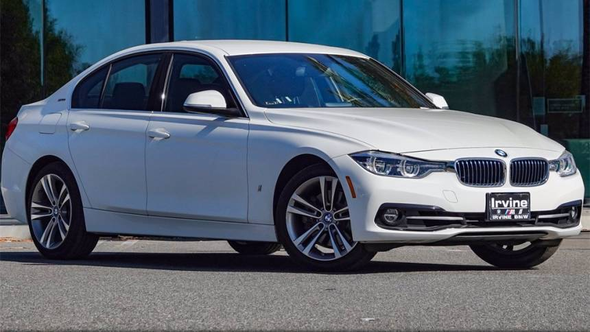 2018 BMW 3 Series WBA8E1C54JA178116