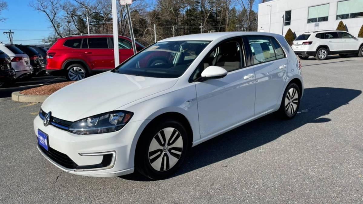 2017 Volkswagen e-Golf WVWKR7AU4HW950542