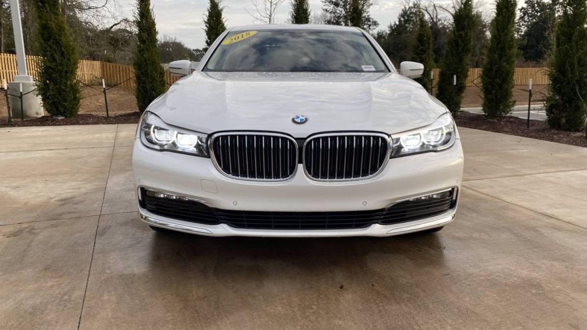 2018 BMW 7 Series WBA7J2C55JB246317