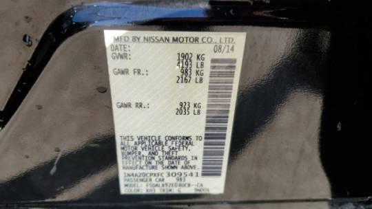 2015 Nissan LEAF 1N4AZ0CPXFC309541