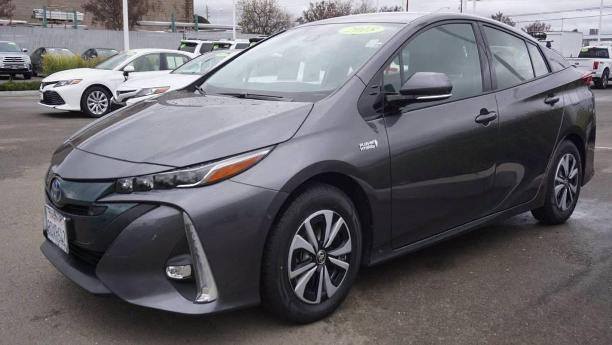 2018 Toyota Prius Prime JTDKARFPXJ3076369