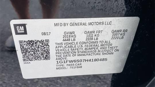 2017 Chevrolet Bolt 1G1FW6S07H4180485
