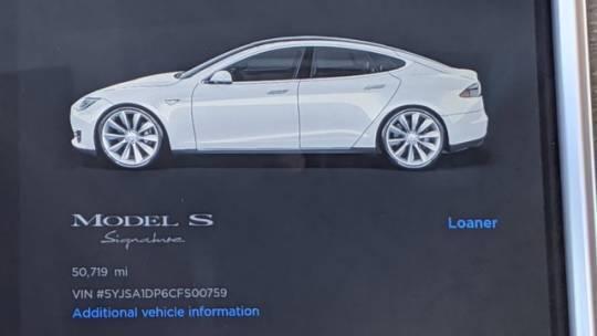 2012 Tesla Model S 5YJSA1DP6CFS00759