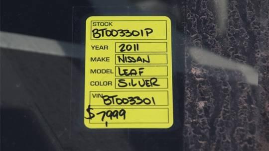 2011 Nissan LEAF JN1AZ0CP6BT003301