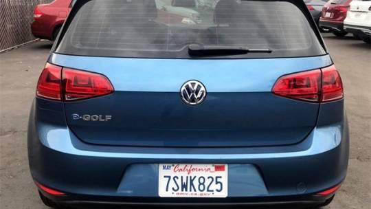 2016 Volkswagen e-Golf WVWKP7AU2GW917205
