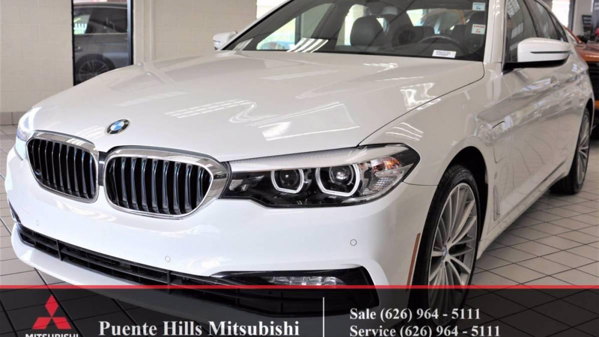 2018 BMW 5 Series WBAJA9C53JB033252