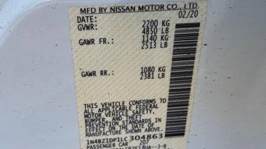 2020 Nissan LEAF 1N4BZ1DP1LC304863
