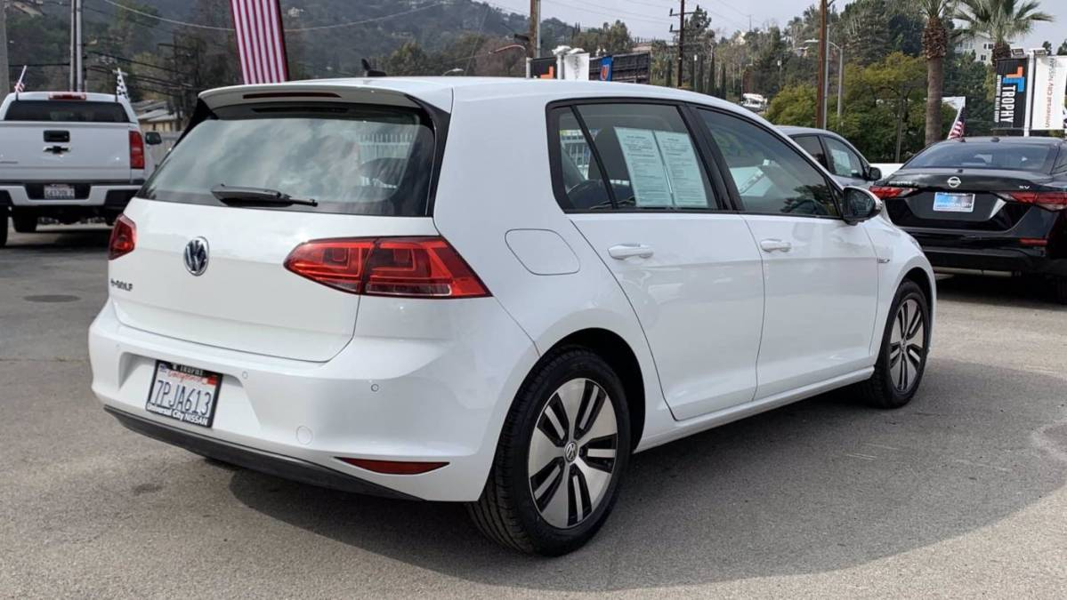 2016 Volkswagen e-Golf WVWPP7AUXGW902392