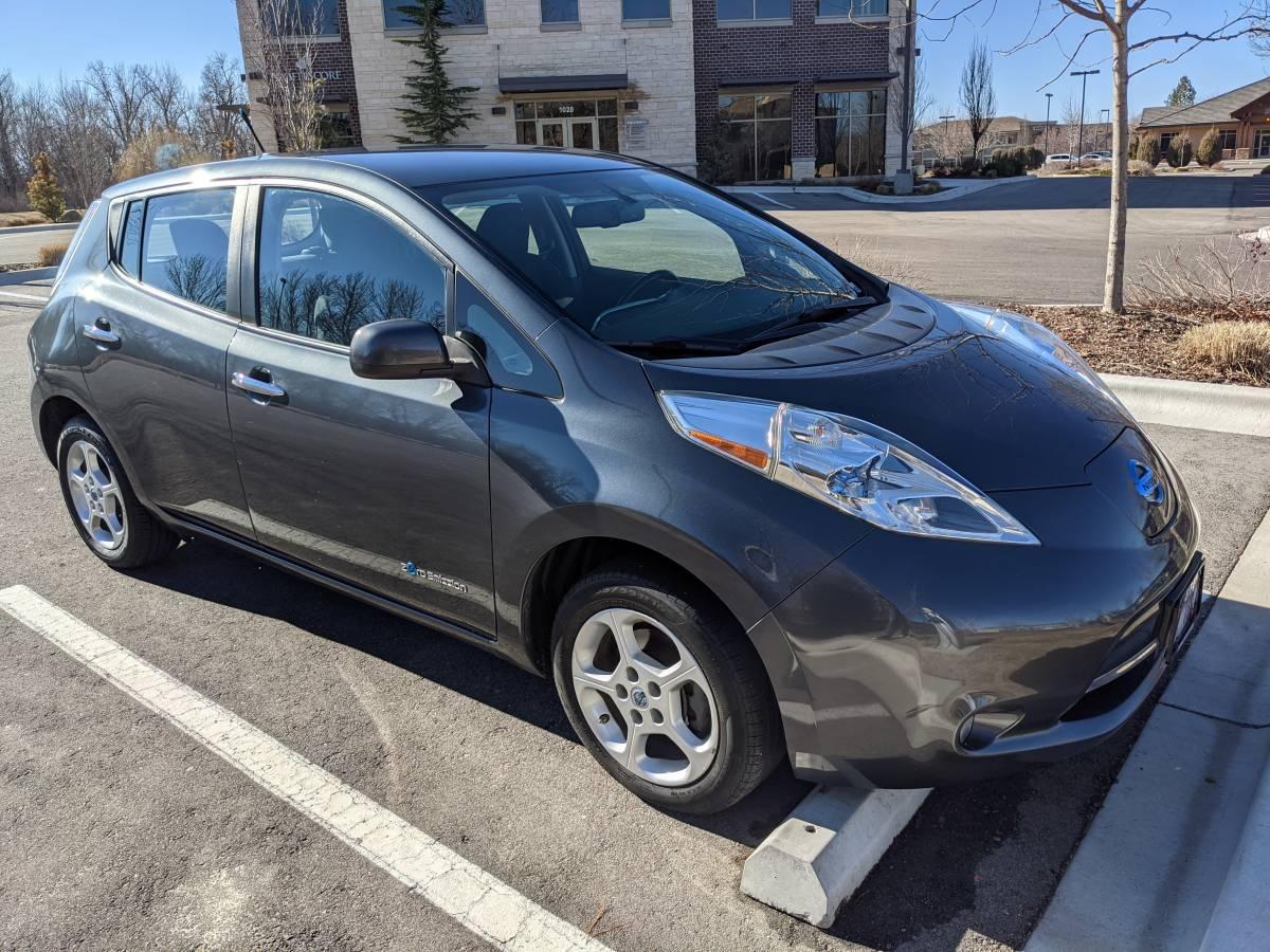 2013 Nissan LEAF 1N4AZ0CP6DC401520