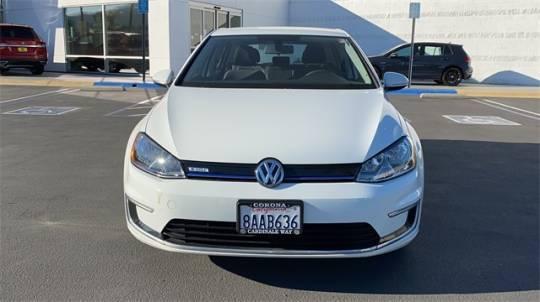 2016 Volkswagen e-Golf WVWKP7AU4GW915939