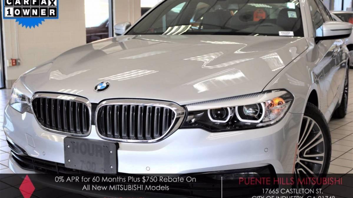 2018 BMW 5 Series WBAJA9C53JB033543