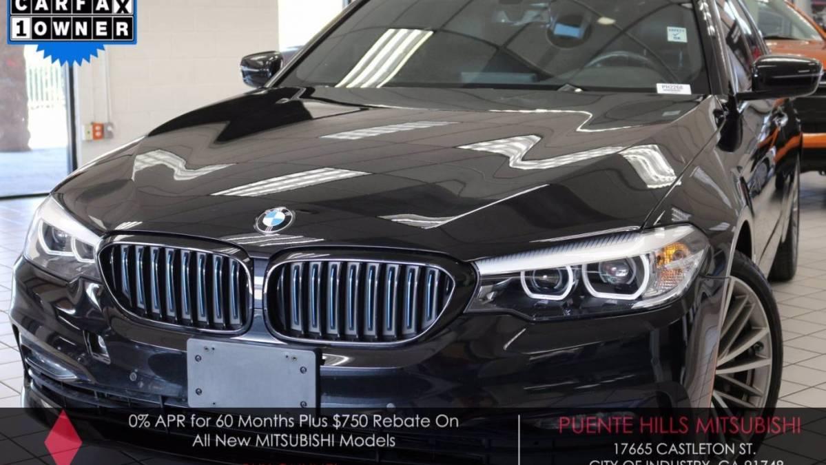 2018 BMW 5 Series WBAJA9C51JB032942