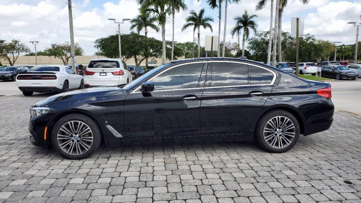 2018 BMW 5 Series WBAJA9C58JB249856