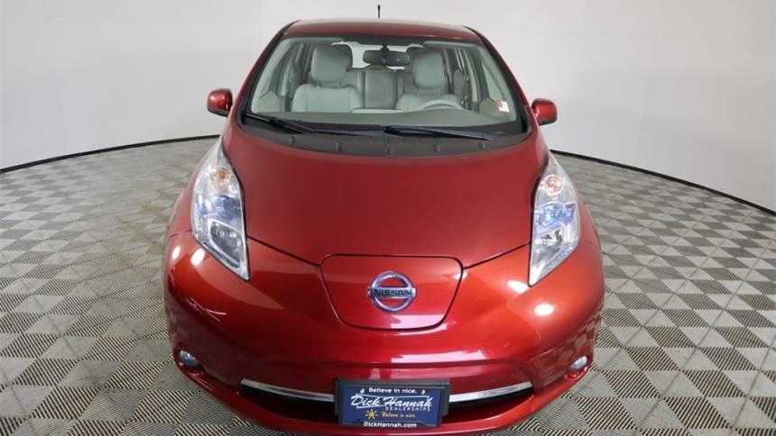 2011 Nissan LEAF JN1AZ0CP3BT007788