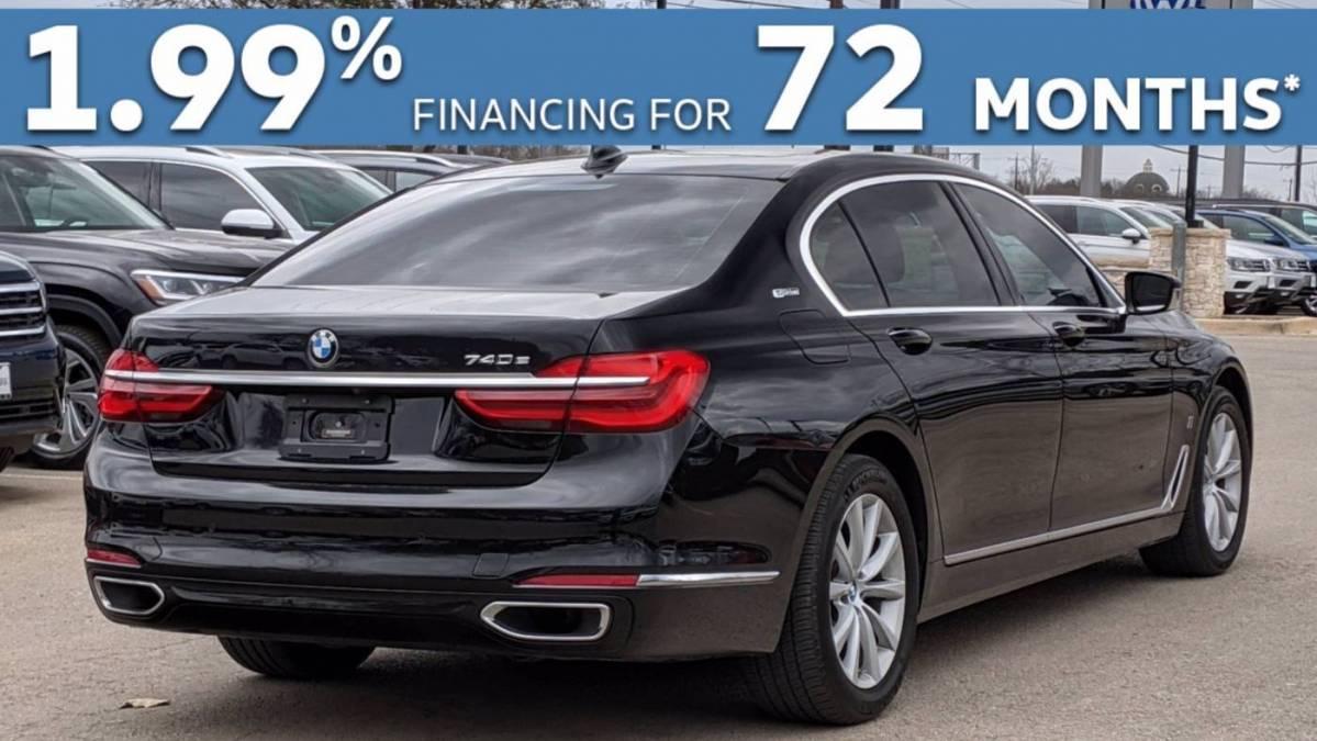 2018 BMW 7 Series WBA7J2C54JG938345