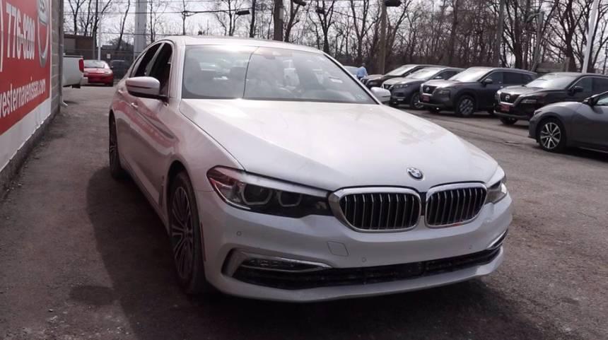 2018 BMW 5 Series WBAJB1C54JG624093