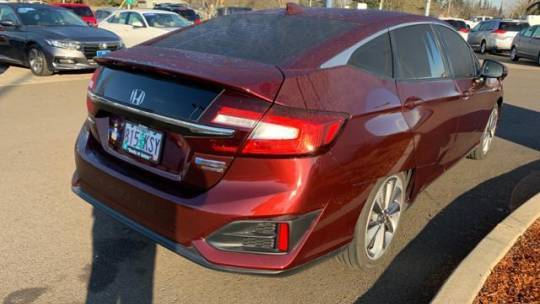 2018 Honda Clarity JHMZC5F38JC007337