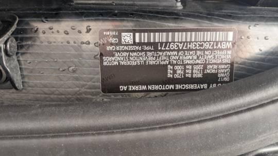 2017 BMW i3 WBY1Z6C33H7A39771