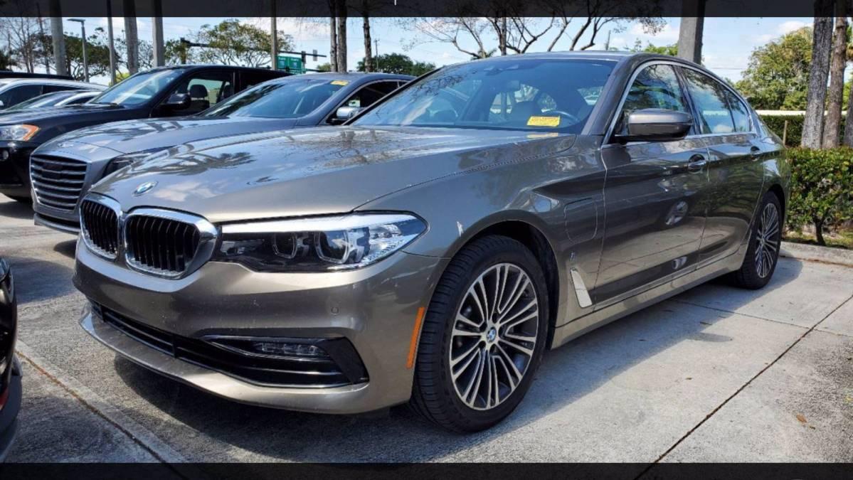 2018 BMW 5 Series WBAJA9C56JB249970