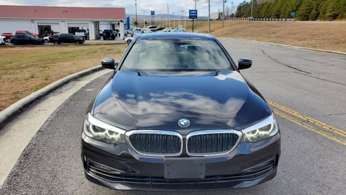 2018 BMW 5 Series WBAJA9C52JB249724