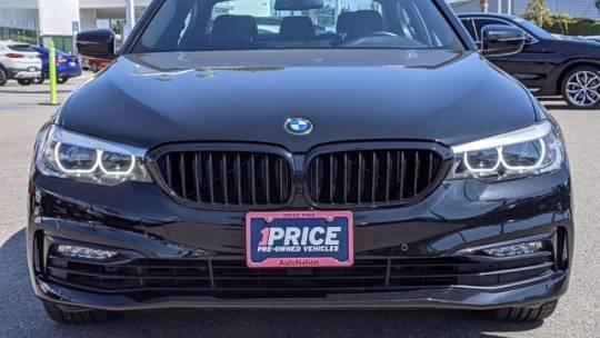 2018 BMW 5 Series WBAJA9C56JB033570