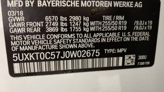 2018 BMW X5 xDrive40e 5UXKT0C57J0W02675