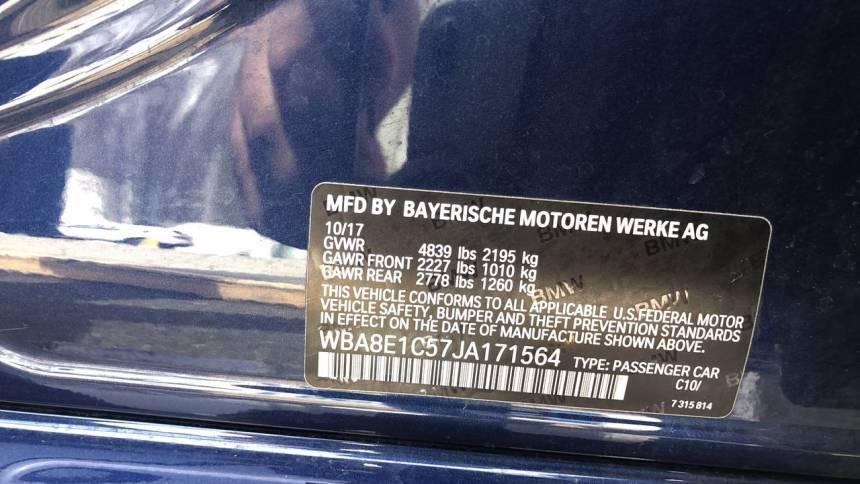 2018 BMW 3 Series WBA8E1C57JA171564