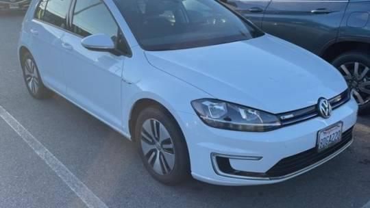 2017 Volkswagen e-Golf WVWKR7AU6HW954284