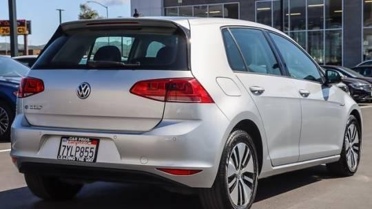 2016 Volkswagen e-Golf WVWPP7AU8GW912614