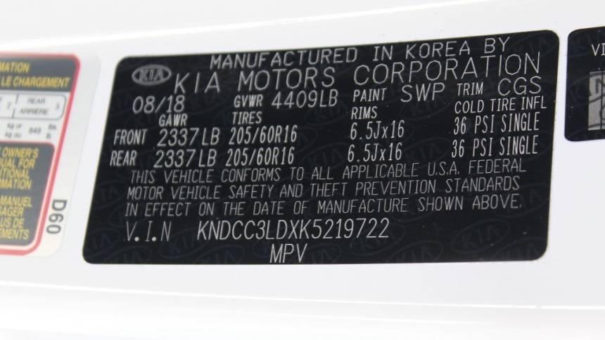 2019 Kia Niro KNDCC3LDXK5219722