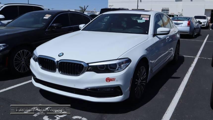2018 BMW 5 Series WBAJA9C59JB249400