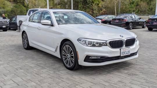 2018 BMW 5 Series WBAJA9C54JB033695