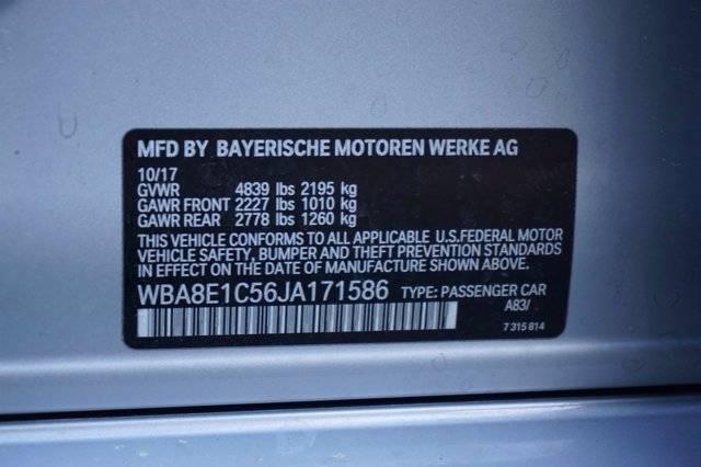 2018 BMW 3 Series WBA8E1C56JA171586