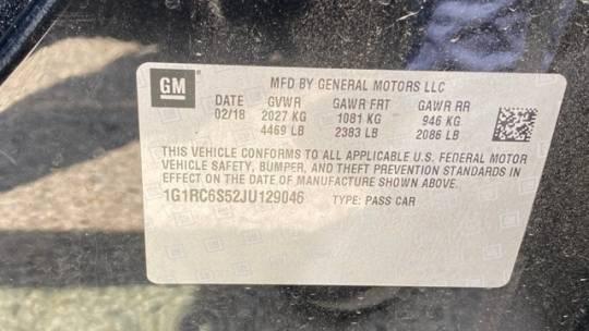 2018 Chevrolet VOLT 1G1RC6S52JU129046