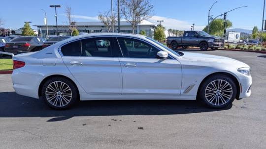 2018 BMW 5 Series WBAJA9C54JB249272