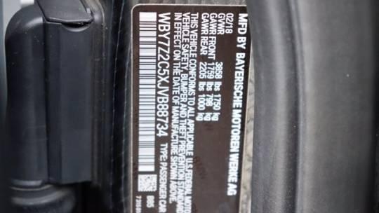 2018 BMW i3 WBY7Z2C5XJVB88734