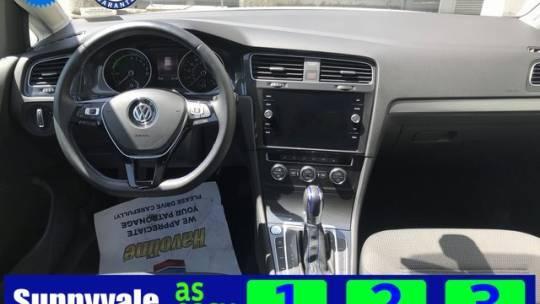2019 Volkswagen e-Golf WVWKR7AU2KW910998