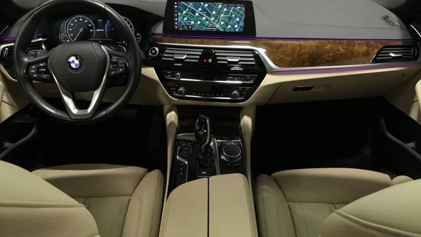 2018 BMW 5 Series WBAJB1C55JB084850