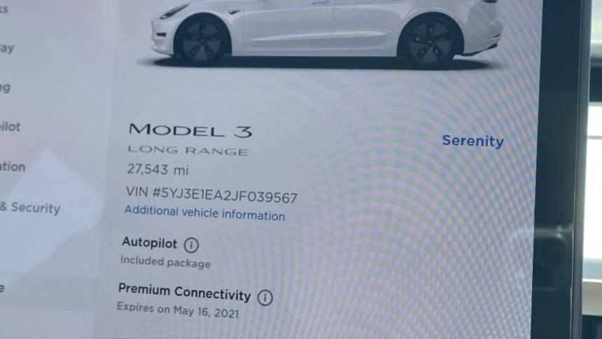 2018 Tesla Model 3 5YJ3E1EA2JF039567