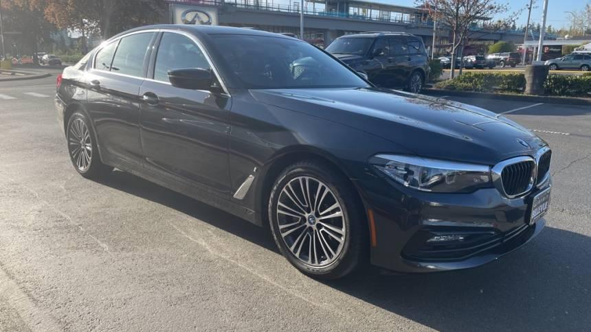 2018 BMW 5 Series WBAJB1C56JB084954