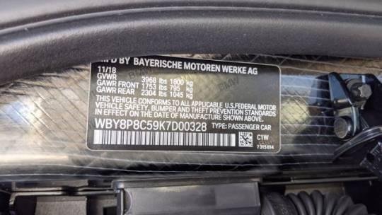 2019 BMW i3 WBY8P8C59K7D00328
