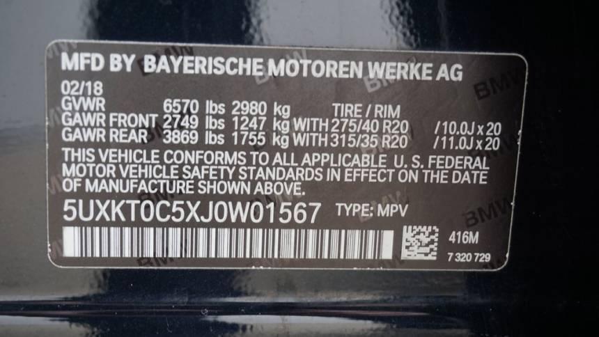 2018 BMW X5 xDrive40e 5UXKT0C5XJ0W01567